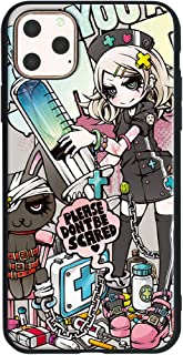 Jiang ジアン TPU & ポリカーボネート ガラス保護フィルム付 Full Protection Case 光沢高精細プリント Project.C.K. イラスト Collection Vol.2 丸型 対応機種 iPhone 11 Pro (5.8インチ) 02P.C.K.0074 11-sc0074-iP11Pro-circle