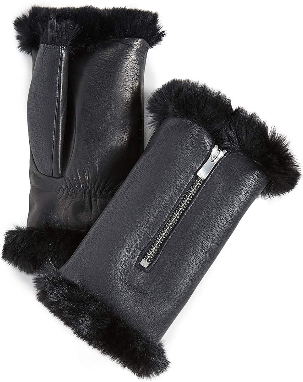Agnelle Women's Barbara Fingerless Gloves