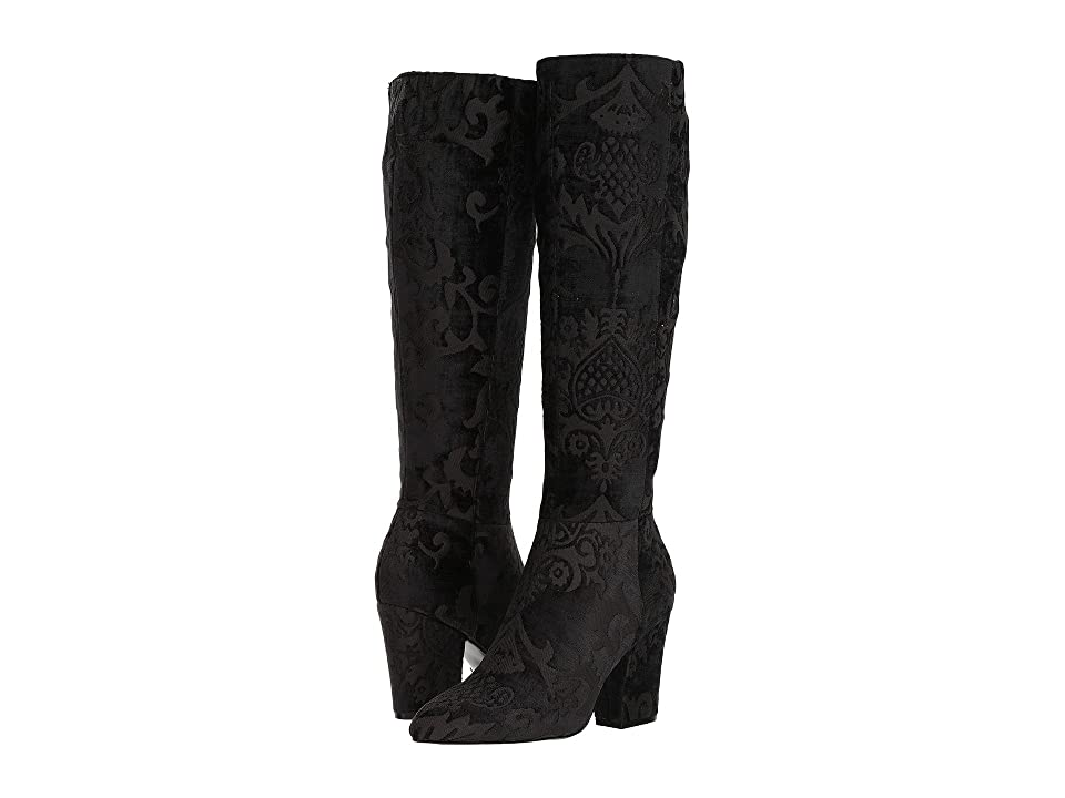 Nine West Shearling (Black/Black) Women
