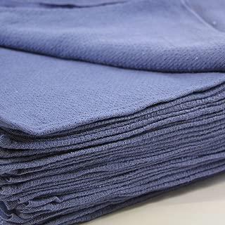 Huck Towels Blue-Commercial -50 Piece Pack -16