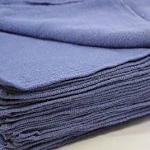 Huck Towels Blue-Commercial -50 Piece Pack -16