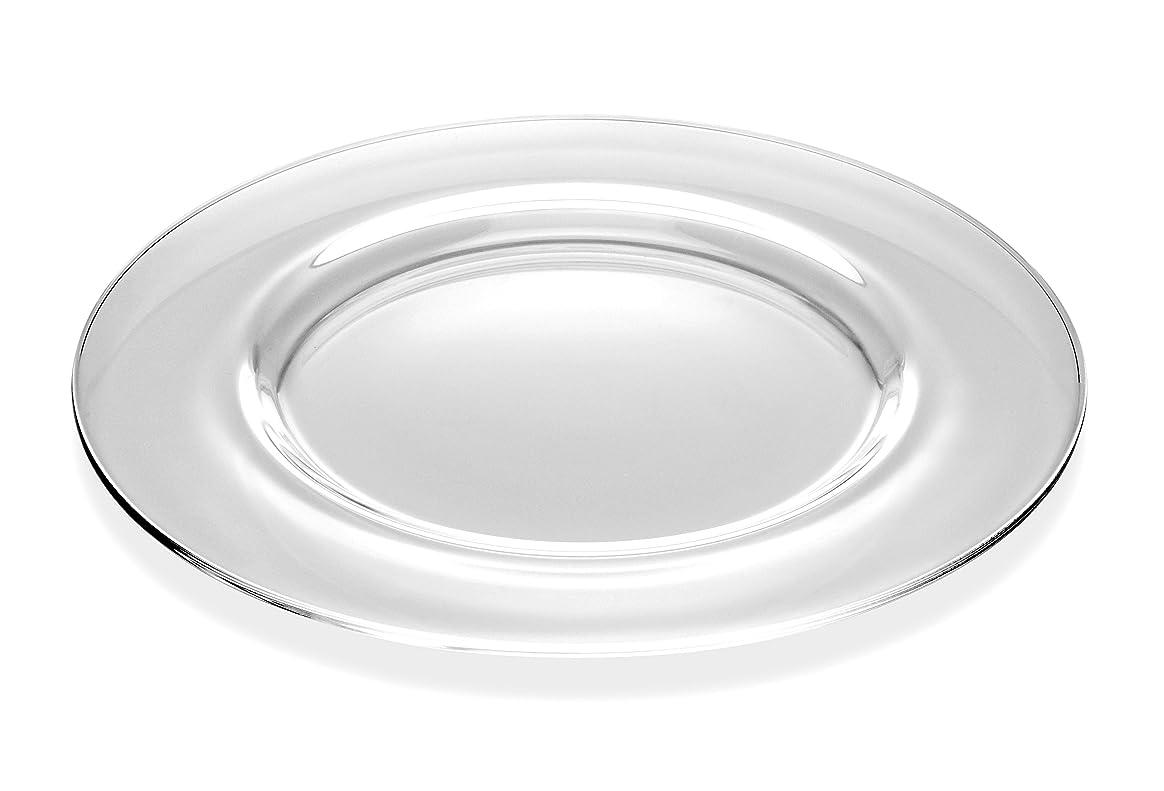 予知消費するロケーションBarski - European Glass - Classic Look - Clear - Charger - Plate - 32cm Diameter - Made in Europe - Set of 2