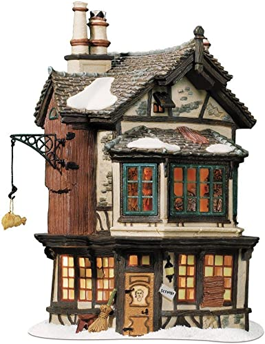 Departement 56 Dickens' Village Ebenezer Scrooge's House Beleuchtetes Haus