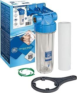 """Filtration d'eau froide 3/4""""en ligne purifie le boîtier du système + filtre entier"""