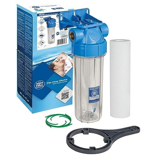 """Filtration d'eau froide 3/4 """"en ligne purifie le boîtier du système + filtre entier"""