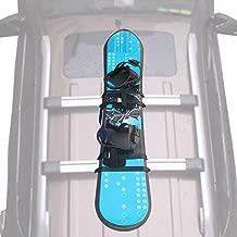 YYST Universal Snowboard Car Rack Snowboard Car Mount Snowboard Holder for One Snowboard - No Board, No Bar