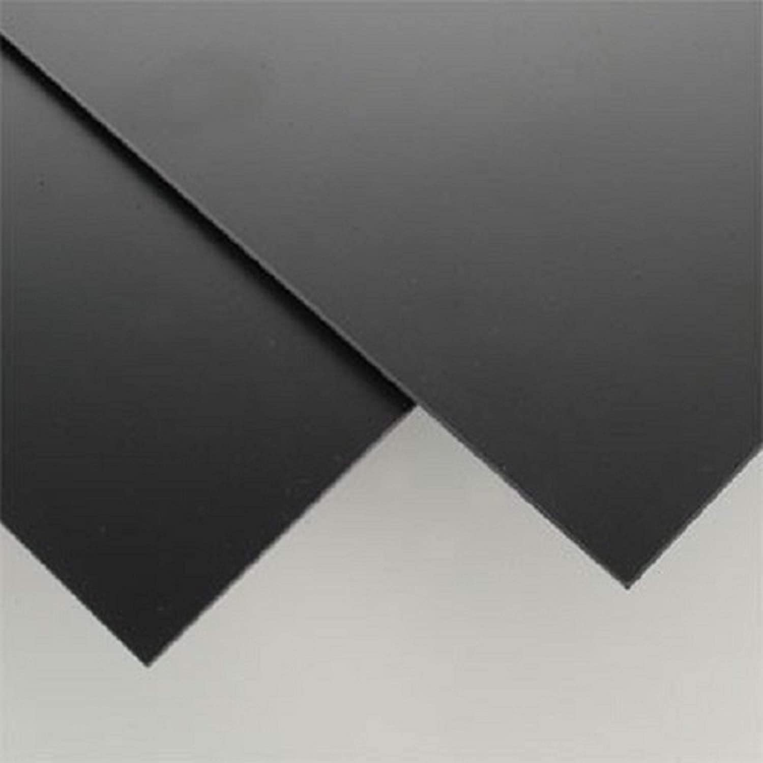 SIBE-R-PLASTIC SUPPLY trend lowest price rank Black Styrene Sheets Plastic 1 Thermoform