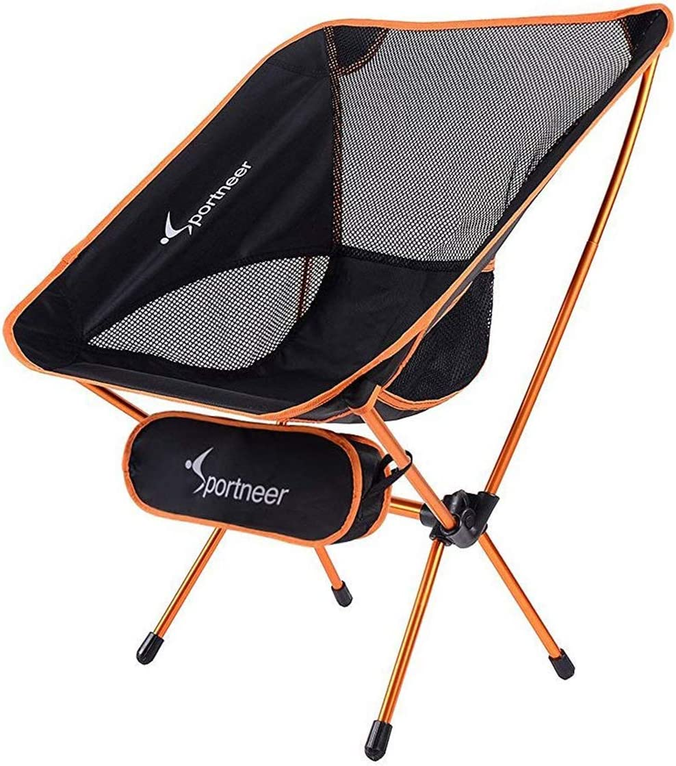 Sportneer Camping Backpacking Chair Portable Lightweight Folding Camp Chairs