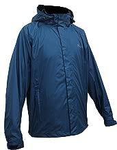 Acme Projects Men's Rain Jacket, 100% Waterproof, Breathable, Taped Seam, 10000mm/3000gm, YKK Zipper