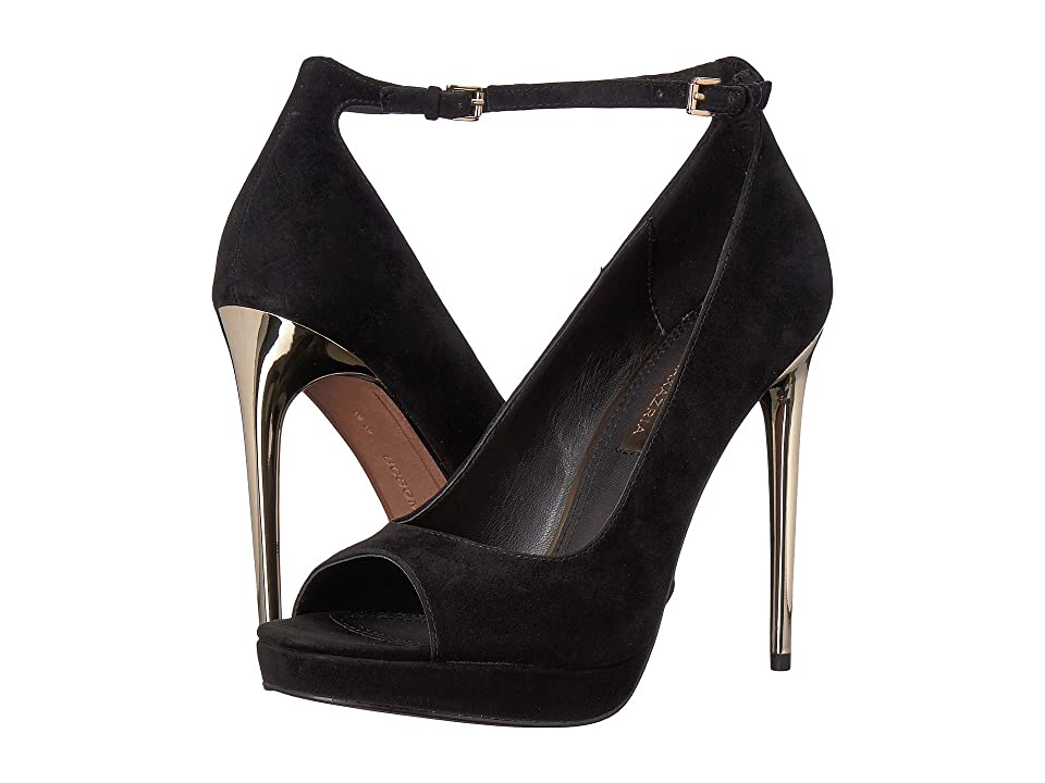 BCBGeneration BCBGMaxazria Becky (Black Kid Suede) High Heels