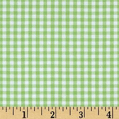 Robert Kaufman Kaufman 1/8in Carolina Gingham Sweet Pea Fabric By The Yard