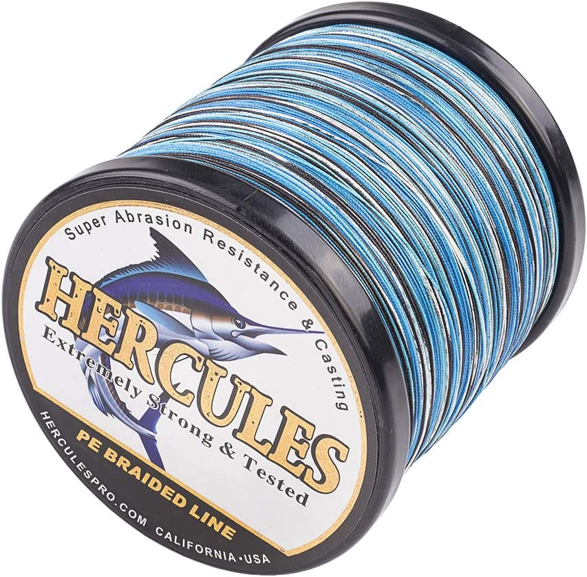 HERCULES Cost-Effective OFFicial shop Super Cast 8 Strands Braided Lin Fishing Attention brand