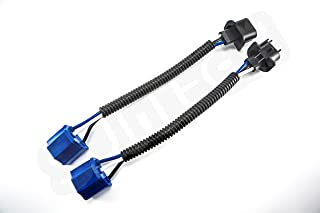 H13 to H4 Adapter (PAIR) - Headlight Conversion Cable - For 7 inch LED Headlight on Jeep Wrangler JK TJ or Trucks Motorcycle Car leds headlights bulbs