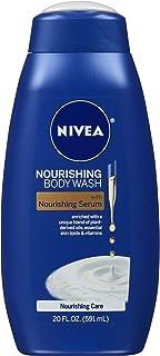 NIVEA Nourishing Care Body Wash - With Nourishing Serum