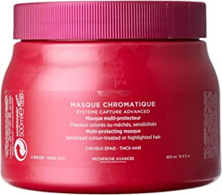 Kerastase Reflection Masque Chromatique - Thick Hair by Kerastase for Unisex - 16.9 oz Masque, 506.99999999999994 milliliters