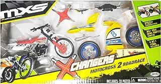MXS Changers Motocross 2 Road Race Playset