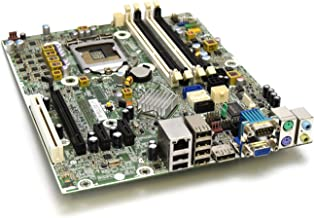 HP 615114-001 Genuine OEM Hewlett-Packard Compaq 6200 Pro Small Form Factor SFF/Micro Tower Motherboard Main System Logic Board Integrated Intel Chipset 611794-000 CPU Process Socket LGA 1155/H2