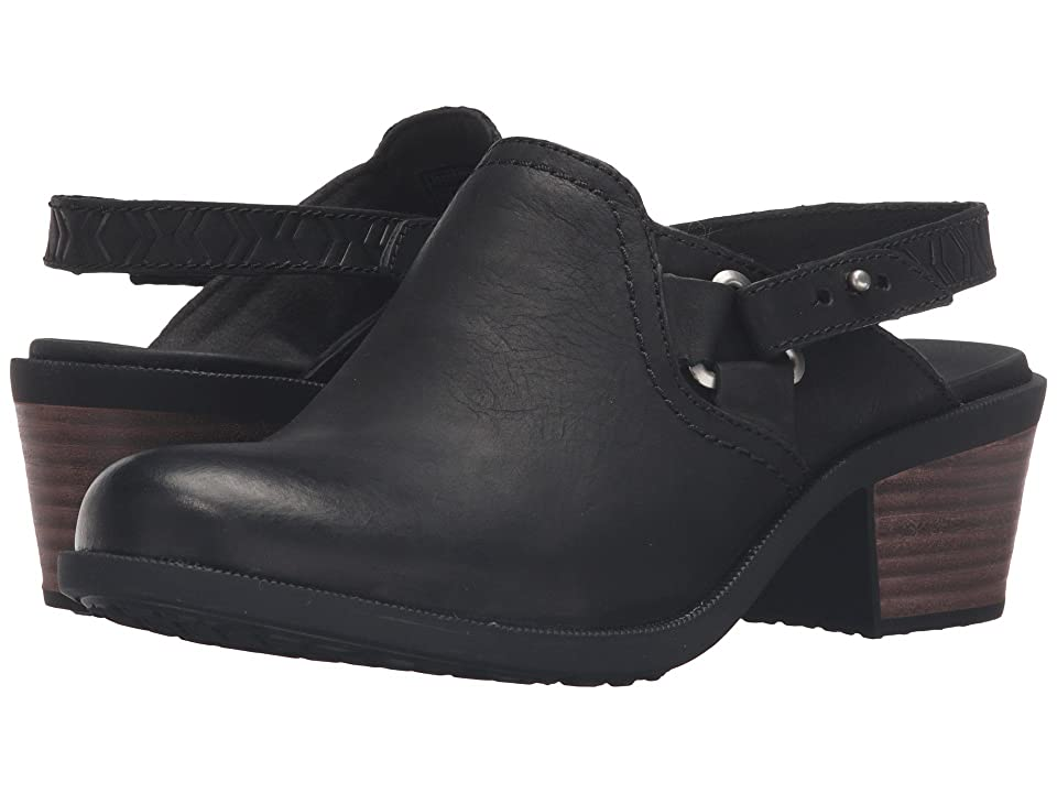 Teva Foxy Clog Leather (Black) Women