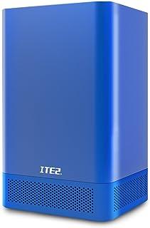 ITE2 2 Bay NAS NE-201- Network Attached Storage - Mini PC - Personal Cloud Storage - Intel Celeron 3955U Dual Core - 8GB D...