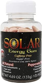 B-Fresh Peppermint Planet Solar Energy Gum, 100ct, No Sugar