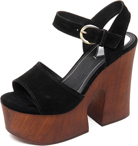 damen zapato de cuero Windsor Smith JADE BLK SDE 7 38 schwarz