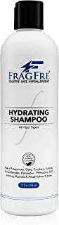 FRAGFRE Hydrating Sensitive Skin Shampoo 12 oz - Sulfate Free Shampoo - Fragrance Free Paraben Free - Color...
