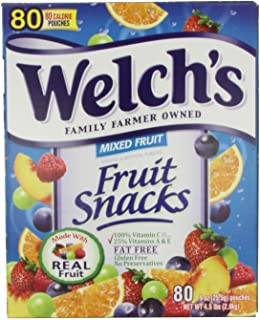 Welch's Mixed Fruit Snacks, 0.9 oz., New Jumbo Size Value Pack 240-Count