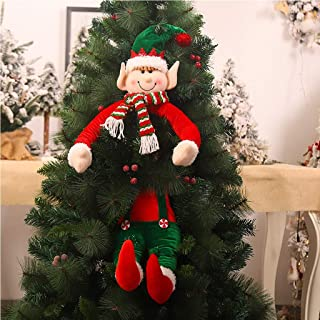 Details about  /CHRISTMAS SANTA CLAUS ELF XMAS TREE HANGING PENDANT DOLL PARTY HOME DECOR NEW