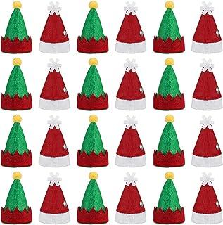 STOBOK 2pcs cappelli natalizi cappello da elfo divertenti cappelli da festa cappelli a tema natalizio elfi per cappelli da festa