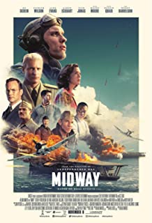 Midway Movie Poster 24 x 36 Inches Full Sized Print Unframed Ready for Display 2019