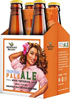 Archipelago Brewery Tropical Pale Ale Craft Beer, 330ml (Pack of 4)