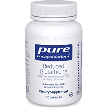 Pure Encapsulations - Reduced Glutathione - Hypoallergenic Antioxidant Supplement for Cell Health and Liver Function* - 120 Capsules