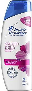 Head & Shoulders Smooth & Silky Anti Dandruff Shampoo, 200ml