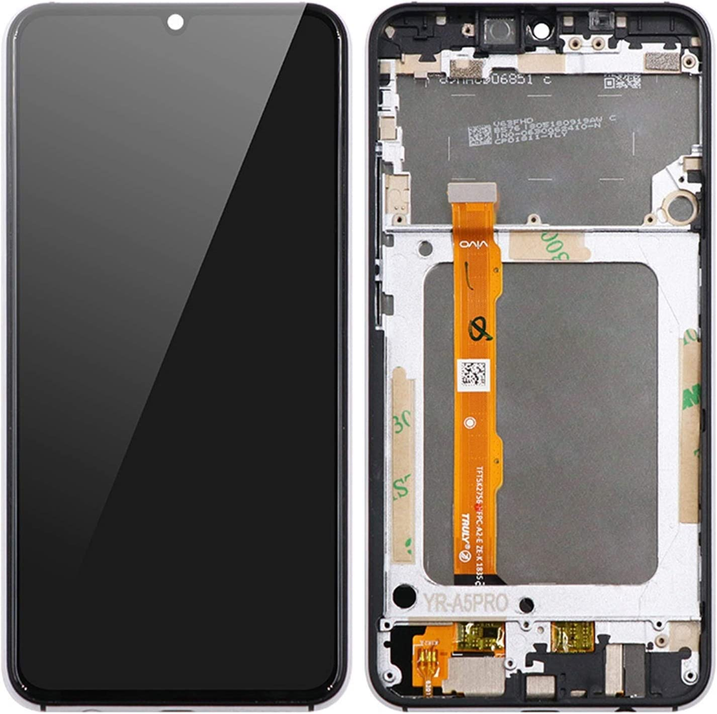 LYXDZW 6.3Inch LCD Display Las Vegas Mall Fit Max 85% OFF for Scre Touch A5 Pro UMI Umidigi