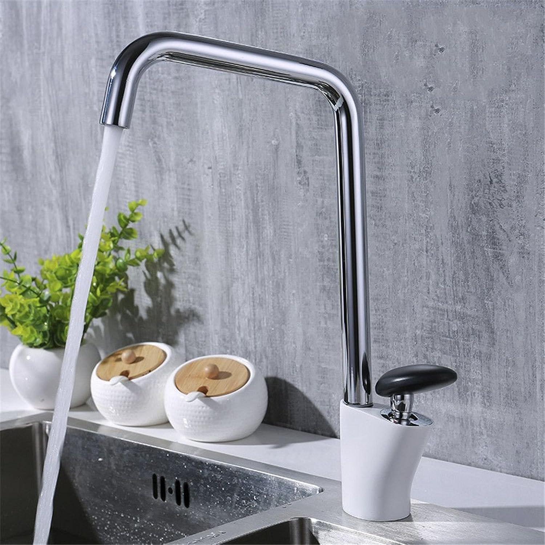 Bijjaladeva Wasserhahn Bad Wasserfall Mischbatterie WaschbeckenChrom Farbe Splash Rinnsal von Warmen und Kalten Gerichten Waschtischmischer horizontale Drehung von 360 Grad von SI
