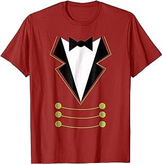 Ringmaster T Shirt Circus Costume Showman T-Shirt
