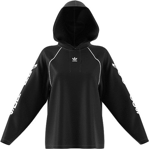 Adidas Sweat à Capuche pour Femme Noir DN8119