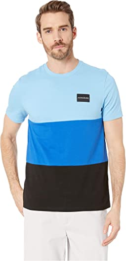 Global Color Block Crew Neck Tee
