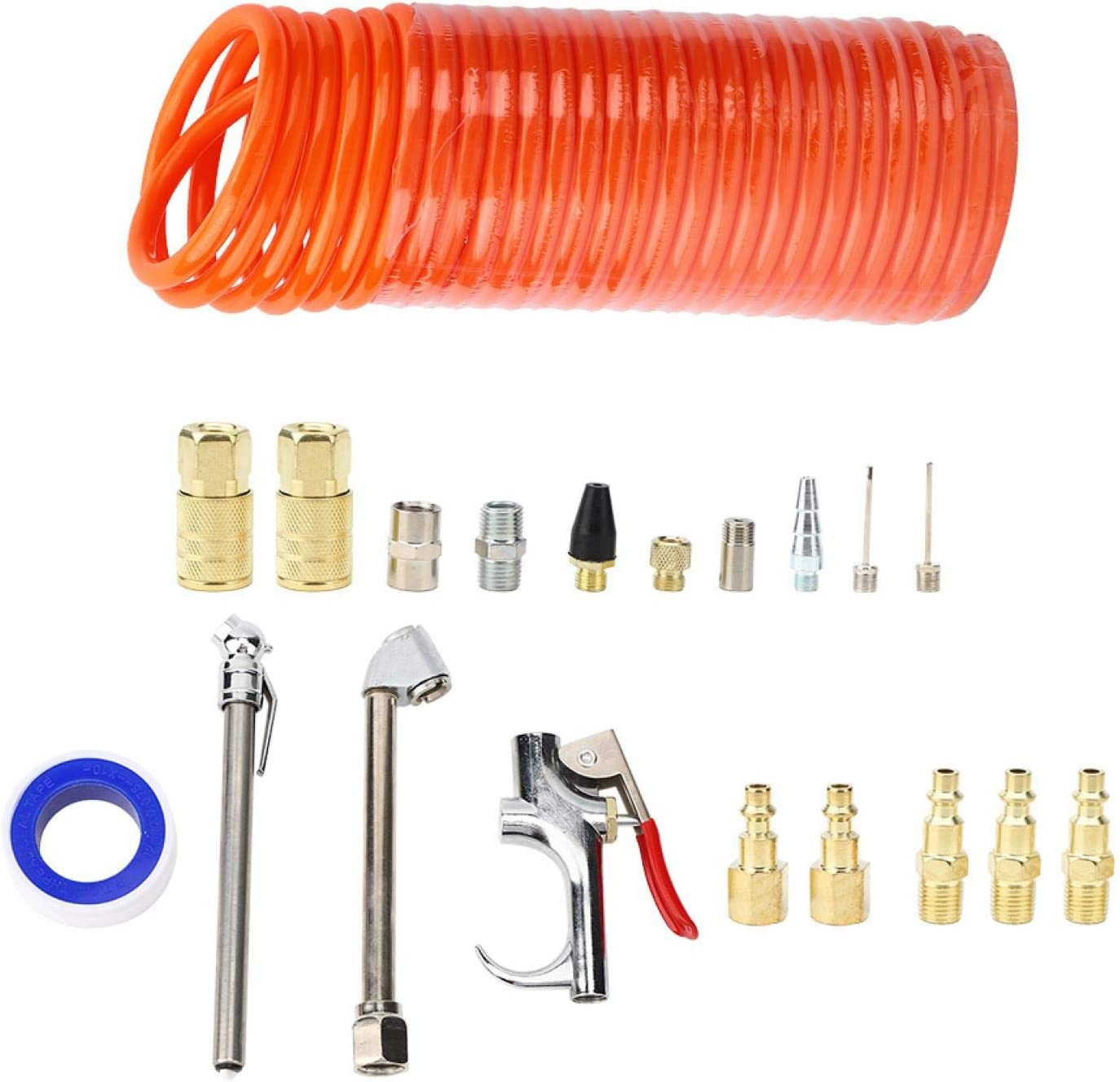 Air Compressor Fittings 20Pcs 25 Special price Memphis Mall for a limited time Ft Durable Convenient Compress