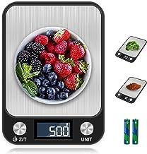 otumixx Balance Cuisine Electronique Balance de Precision, 10kg/1g, Balance de Cuisine de Haute Précision, Acier Inoxydabl...