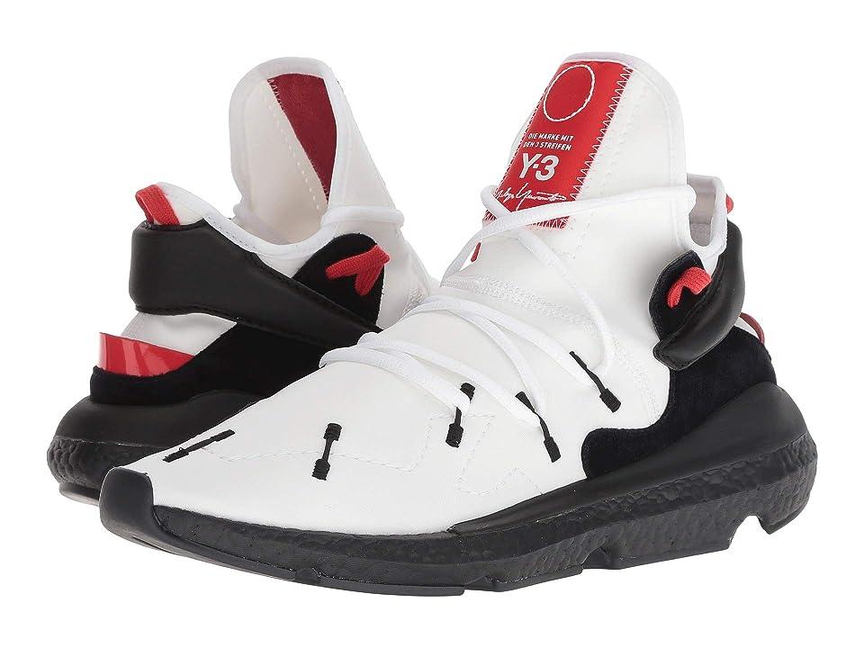 adidas Y-3 by Yohji Yamamoto Y-3 Kusari II (Footwear White/Black Y-3/Lush Red) Athletic Shoes