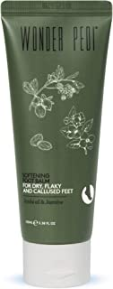 Foot Balm Cream for Cracked Heels with Jojoba Oil and Jasmine - Calming and Softening Cream for Dry, Flaky, and Callused F...