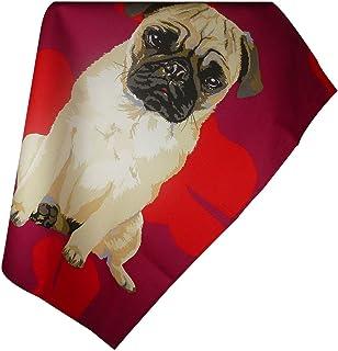 Leslie Gerry Pug Tea Towel