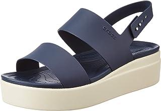 Crocs Women's Brooklyn Low Wedge W Leisure Slippers and Sportwear, Multicolor