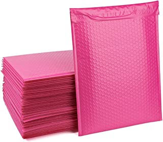 Fu Global #5 Pink Bubble Mailers 10.5x16 Inches Padded Envelopes Pack of 25