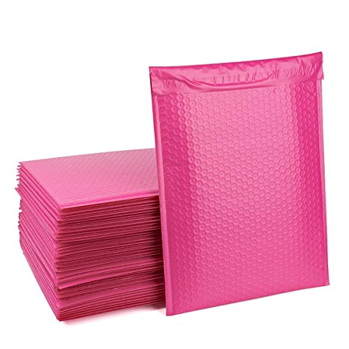 MADISHAN #4 9.5 x 14.5 Poly Bubble Mailers Blue Self Seal Padded Shipping Envelopes Bags Total Pack of 25 Envelopes