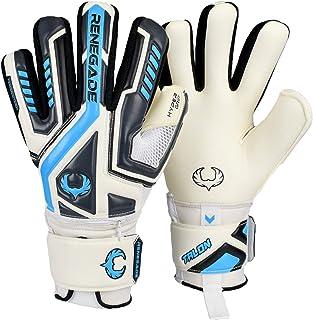 Renegade GK Talon Goalie Gloves with Microbe-Guard (Sizes 5-11, 3 Styles, Level 2) Pro-Tek Fingersaves & 3.5+3mm Hyper Gri...