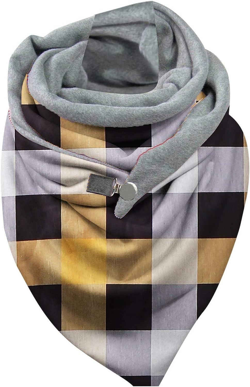 Scarves Shawls for Women Fashion,Plaid Printed Blanket Scarf Fall Scarves Overside Warm Shawl Cape Autumn Winter