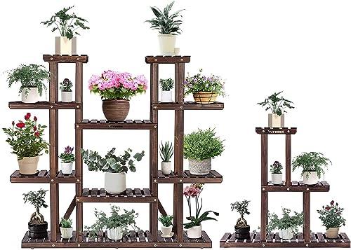wholesale VIVOSUN Wood Plant Stands for Indoor Plants outlet sale Plant Shelves Flower outlet sale Racks online