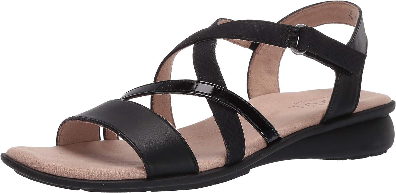 SOUL Naturalizer Women's Jem Flat Sandal